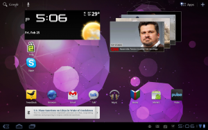 Motorola Xoom Android Tablet Honeycomb Desktop